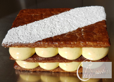 ChaPatiss Millefeuille Vanille ind